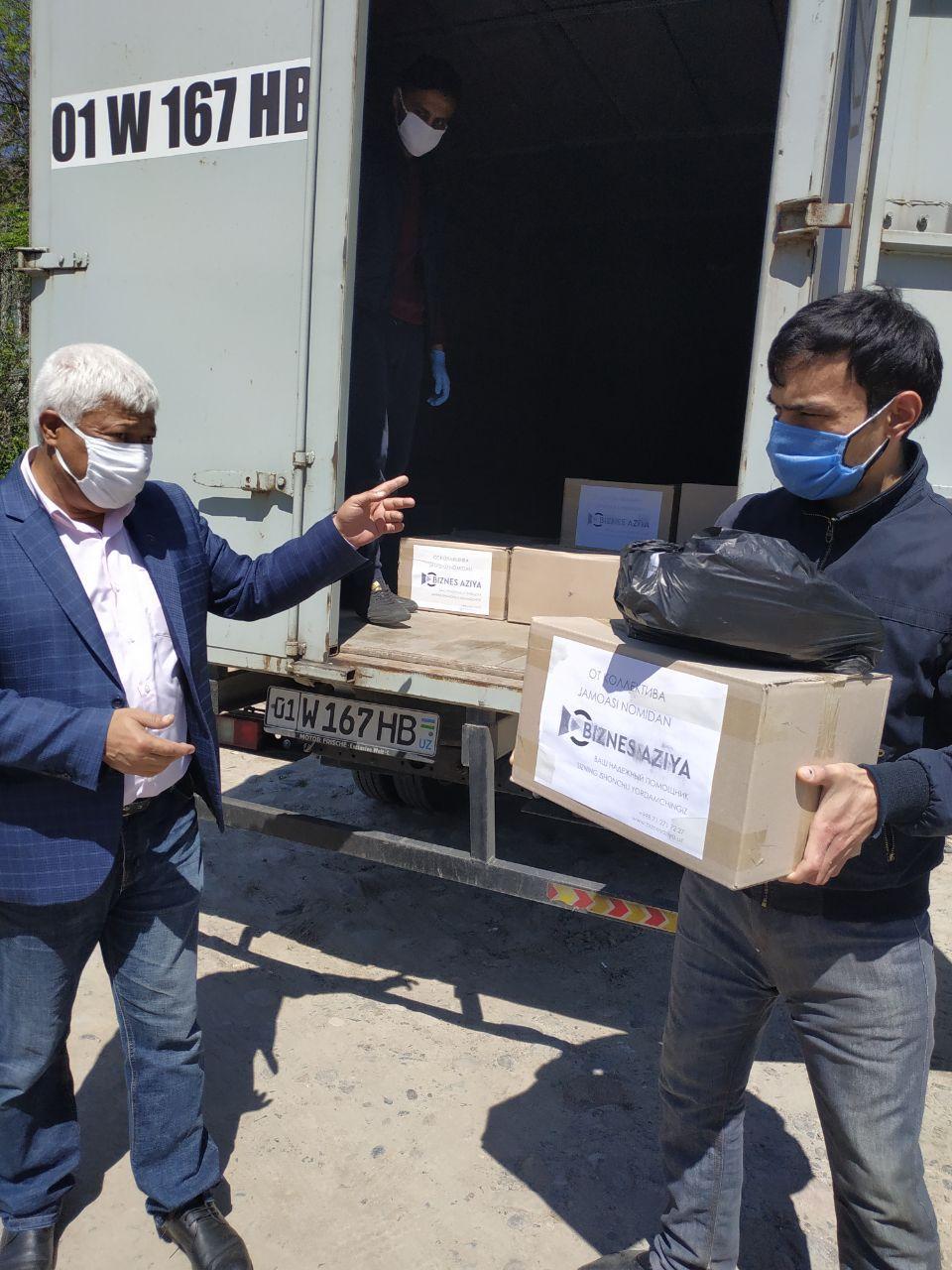 Благотворительная акция от Бизнес Азия