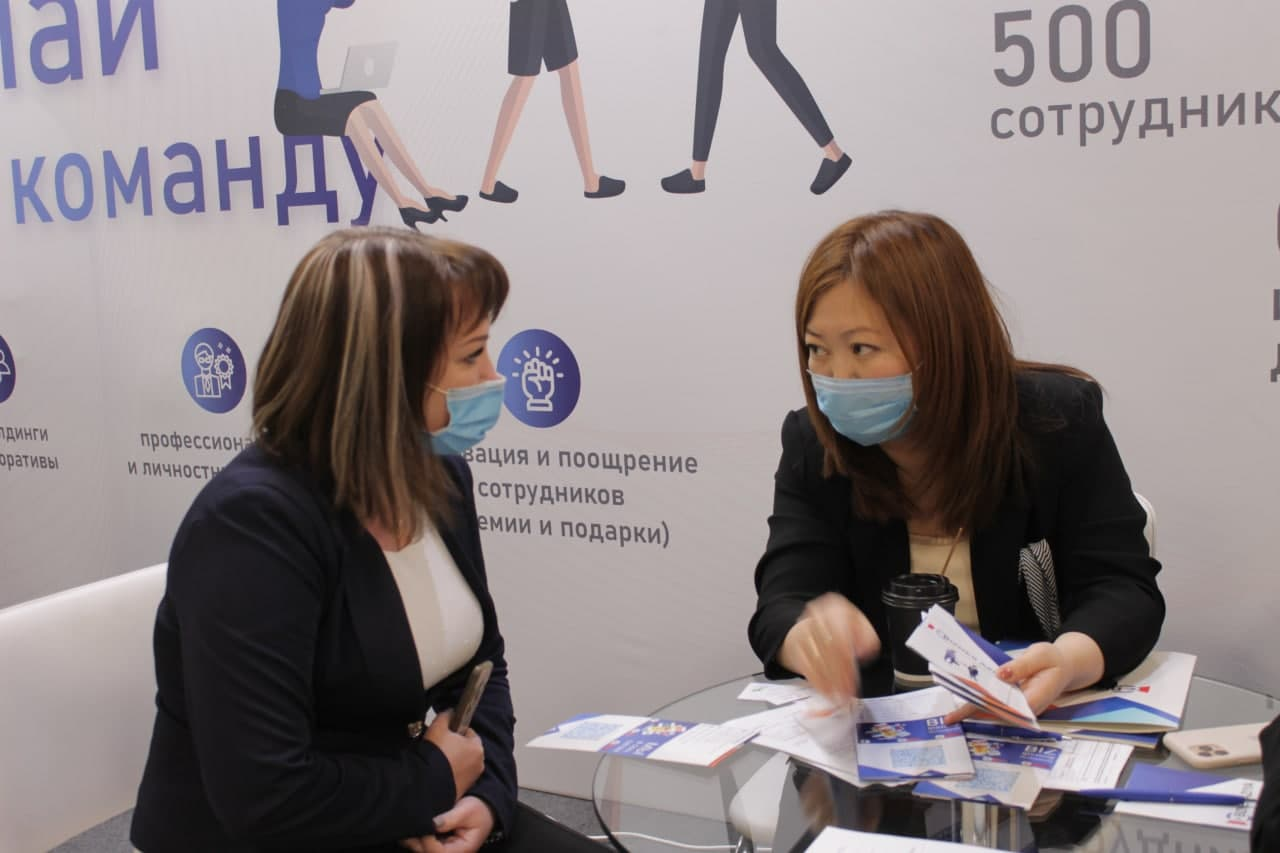 Ярмарка Вакансий в рамках месяца Молодёжи «Ташкент любит молодежь»